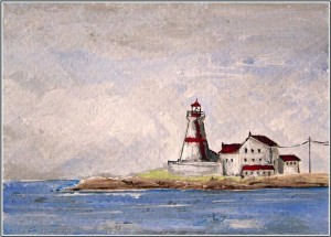NB lighthouse by Virginia Spencer