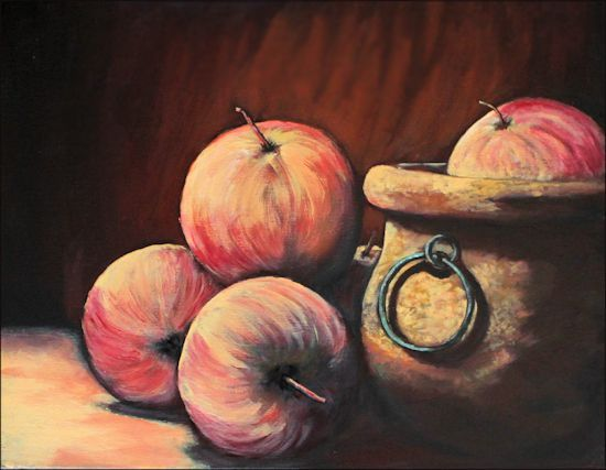 stilllife1©Virginia Spencer, thepurpledogpaintingblog, 2013