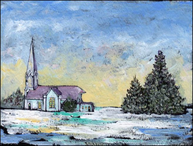 landscape_snow_winter_painting