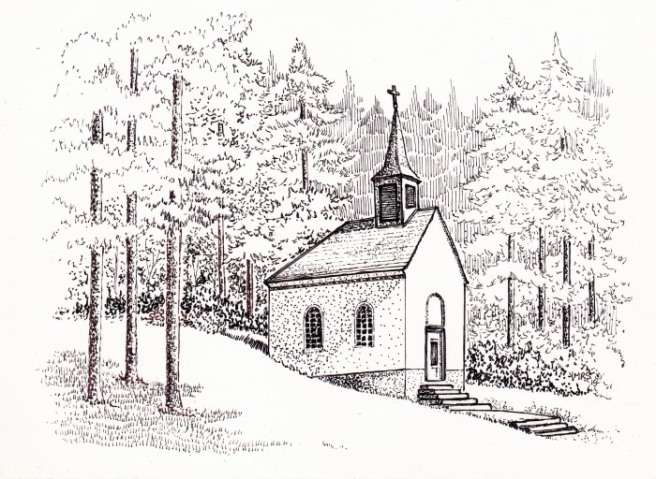 ink_church_pen_drawing
