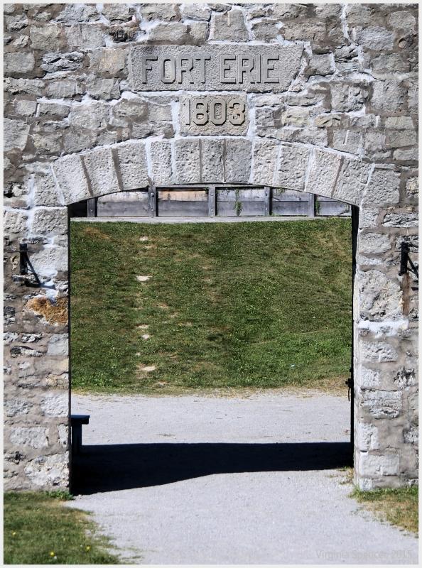 Old Fort Erie Gate war 1812