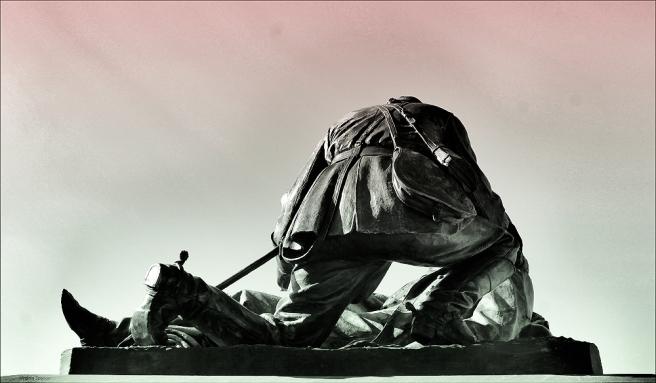 Gettysburg mason memorial death sun