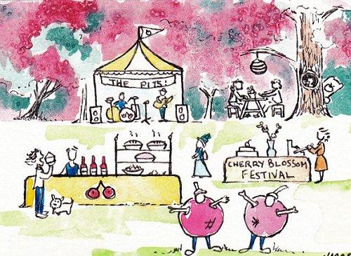 blog cherry festival