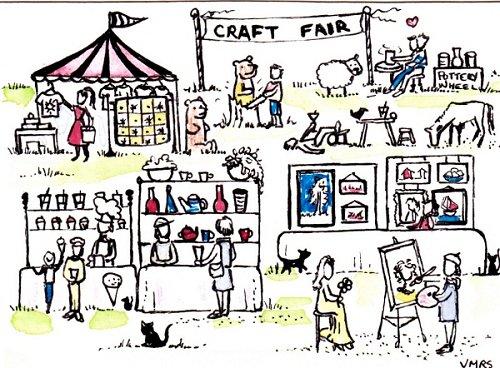 blog craft fair arts ATC