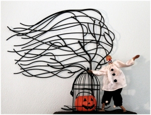 scary clown costume Halloween