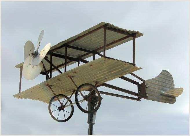 weather vane plane