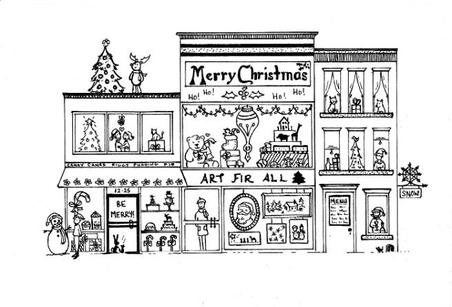 christmas-pen-reindeer-art