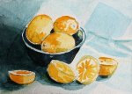 watercolor painting Virginia Spencer vmrs ATC